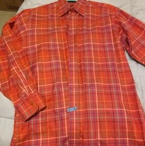 Overton Plaid Twill Button Down Shirt